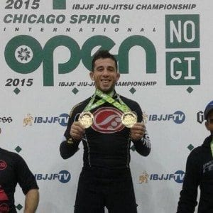 Torregrosa wins more gold at the IBJJF Chicago Open--photo courtesy of Marcos Torregrosa